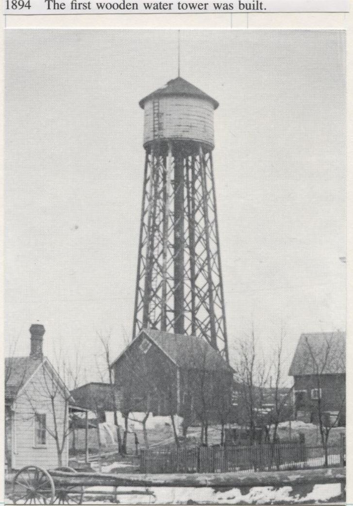 Water Tower - Wooden