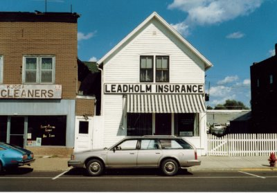 An old building for home insurance
