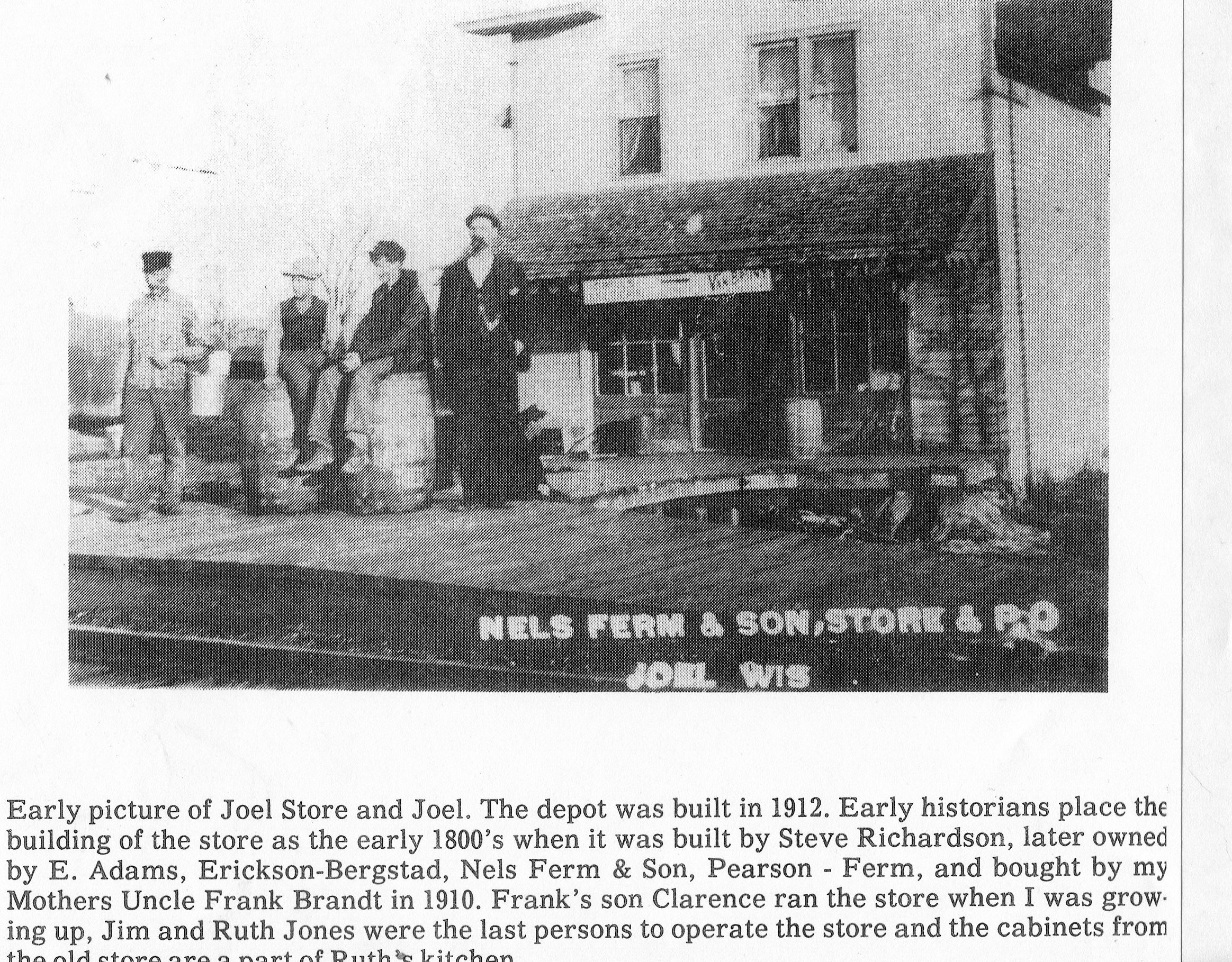 Business - Joel Store Abt 1912