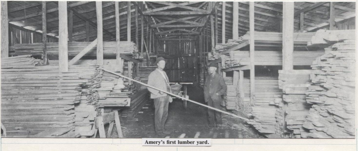 Business - Lumber Yard 1887